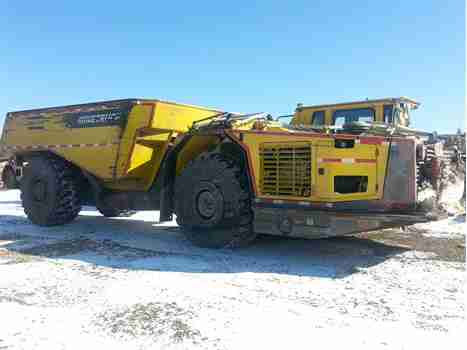 2015 ATLAS COPCO MT42 HAUL TRUCK