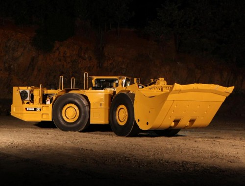 caterpillar mining trucks: R1600H LHD mining loader and underground haul truck