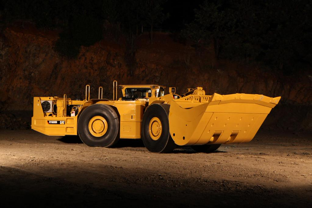 Caterpillar R1600h Lhd Mining Loader And Underground Haul