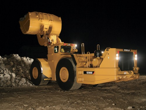 caterpillar LHD mining trucks for lease: R2900G underground mine loader