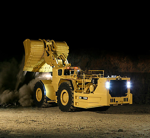 caterpillar mining equipment for sale/lease: R3000H underground loader and mine scooper
