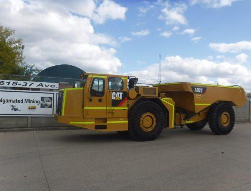 Caterpillar AD22 underground mining truck - LHD