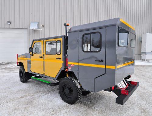 Minecat UT99D underground mining trucks