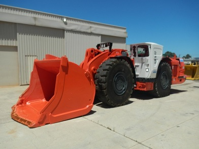 Sandvik LH517 mining material transport utility vehicle