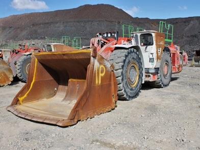Sanvik LH517 mining material transport utility vehicle