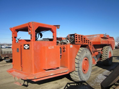 DUX TD15 mining and drilling support vehicle
