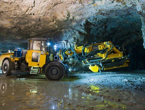 Simba ME7C Epiroc Underground Mining Production Drill Rig
