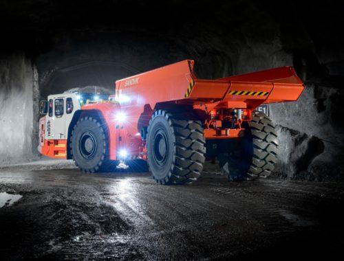 Sandvik TH551i Underground Truck